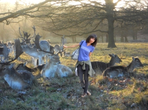 ...with the deer