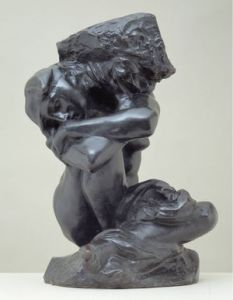 Auguste Rodin - Fallen Caryatid Carrying Her Stone - c 1881-1981