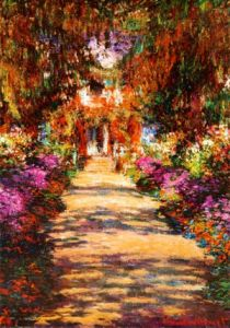 Claude Monet - Le Jardin a Giverny