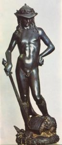 Donatello - the bronze Davide - c 1440