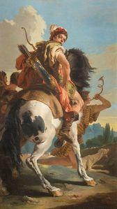 Giambattista Tiepolo Cacciatore a cavallo