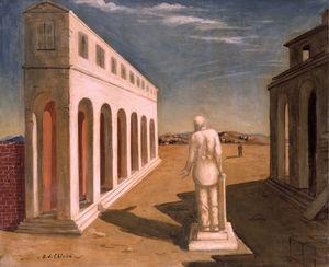 Giorgio de Chirico - Piazza - 1925