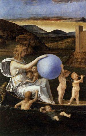 Giovanni Bellini - Four Allegories Fortune c 1490