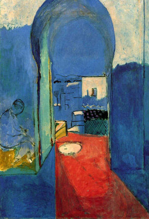 Henri Matisse - Entrance To The Kasbah - 1912