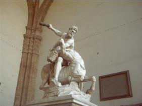 Jean de Boulogne (Giambologna) - Ercole e il Centauro 1594-1600