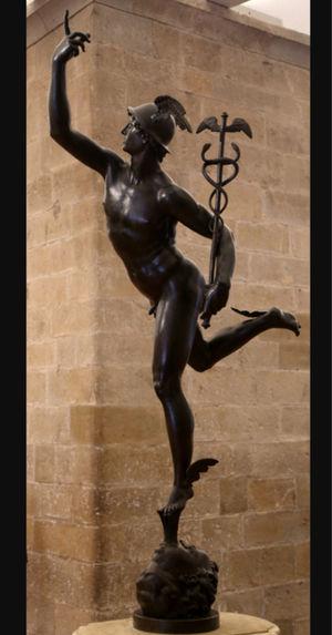 Jean de Boulogne - Mercurio  del Bargello - 1580