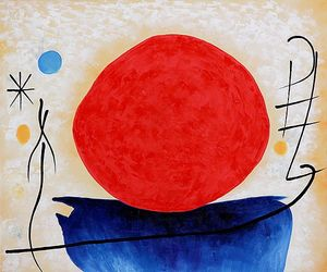 Joan Miro - The Red Sun - 1948