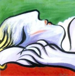 Pablo Picasso - Asleep_1932