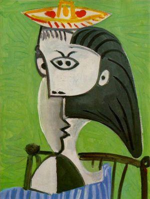 Pablo Picasso - Buste de Femme Assise - 1962