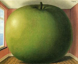 Rene Magritte - The Listening Room - 1952