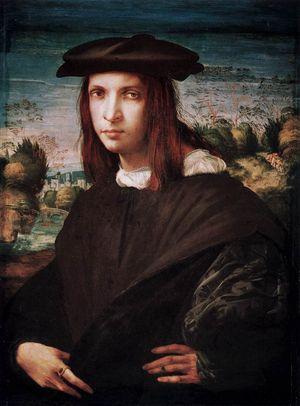 Rosso Fiorentino - A Young Man - c 1517-18
