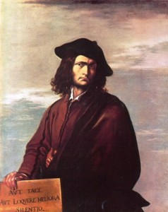 Salvator Rosa - Autoritratto - about 1645