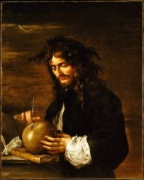 Salvator Rosa - Autoritratto