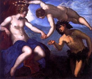 Tintoretto - Bacchus and Ariadne - 1578