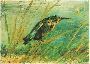 Van Gogh - Martín Pescador - 1886