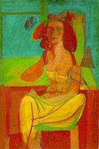 Willem de Kooning - Seated Woman - 1940
