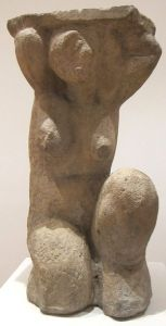 Amedeo Modigliani c1914 limestone