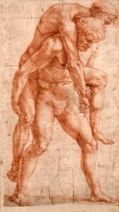 Raffaello - Uomo giovane e uomo vecchio