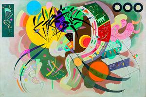 Wassily Kandinsky - Dominant Curve - c 1936