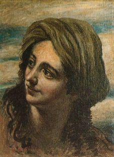 Giorgio de Chirico - Testa di Donna Orientale - c 1950
